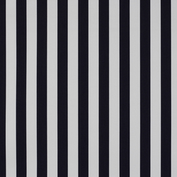 Solids & Stripes Yacht Stripe Charcoal | Tissus de décoration | Sunbrella