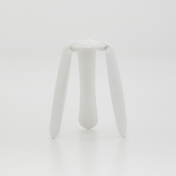 Plopp Stool | Kitchen | white | Bar stools | Zieta