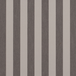 Solids & Stripes Graumel | Outdoor upholstery fabrics | Sunbrella