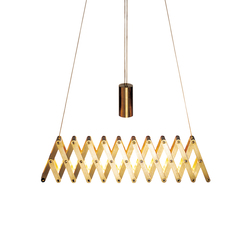 fleXXXibile standard | brass | Pendant lights in metal | Lucelab