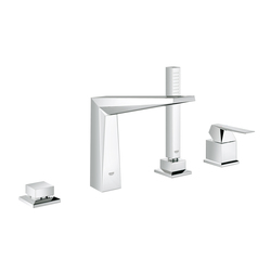 Allure Brilliant Four-hole single-lever bath combination"