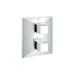 Allure Brilliant Thermostat with integrated 2-way diverter for bath/shower, more than one outlet | Shower taps / mixers | GROHE
