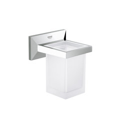 Allure Brilliant Holder with tumbler | Porta spazzolini | GROHE