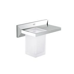 Allure Brilliant Shelf with tumbler | Tablettes / Supports tablettes | GROHE