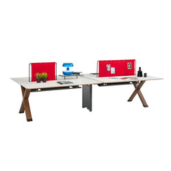 Partita Operational Desk System | Paneles para puestos de trabajo | Koleksiyon Furniture