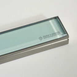 CeraLine glass green | Linear drains | DALLMER