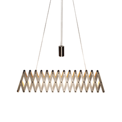 fleXXXibile medium | nickel | Pendant lights in metal | Lucelab