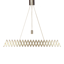 fleXXXibile xxl | nickel | Pendant lights in metal | Lucelab