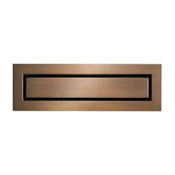 CeraNiveau antique bronze | Linear drains | DALLMER