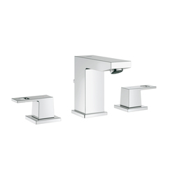 Eurocube Three-hole basin mixer | Wash-basin taps | GROHE