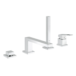 Eurocube Four-hole single-lever bath combination | Robinetterie pour baignoire | GROHE