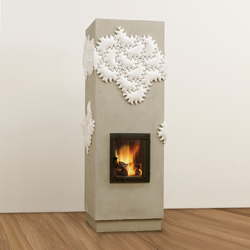 Hot Milky Star | Wood burning stoves | POLI Keramik