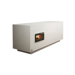 Poli Kubus | Wood burning stoves | POLI Keramik