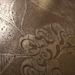 Metal | Wall coatings | Stucco Pompeji