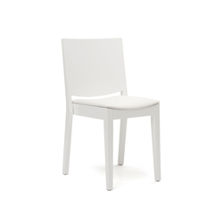 C.D. Medium white | Visitors chairs / Side chairs | Inno