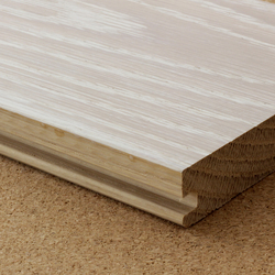 Pigmented brushed solid oak flooring | Wood | selected by Materials Council