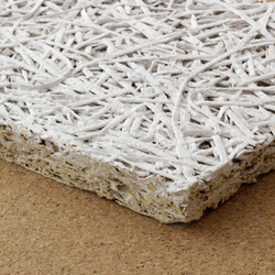 Wood fibre cement board | Concrete | selected by Materials Council