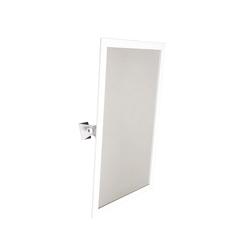 Miroirs muraux miroirs de salle de bain miroir orientable for Miroir orientable