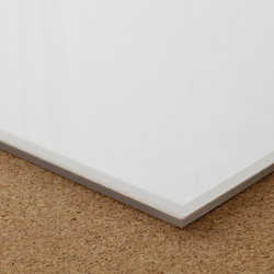 8.72mm Low iron opaque white PVB laminated glass | Glas | selected by Materials Council