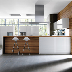 3000 avant montllor parma blanco brillo | Fitted kitchens | DOCA