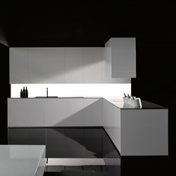 Gloss blanco factory 2 | Fitted kitchens | DOCA