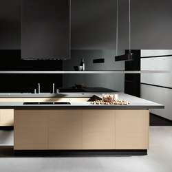 Parma roble microblock | Fitted kitchens | DOCA
