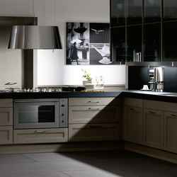Matim roble green barna roble green foro acero cristal bronce | Fitted kitchens | DOCA