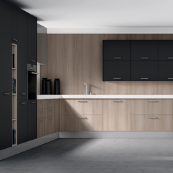 2000 nogal gris | Fitted kitchens | DOCA