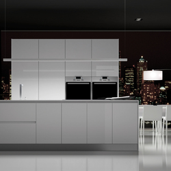 Parma blanco brillo | Fitted kitchens | DOCA