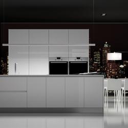 Parma blanco brillo | Cocinas integrales | DOCA