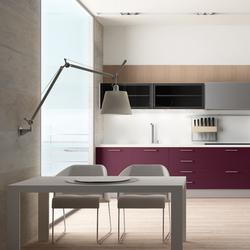 2000 Inox morado blanco ideco gris | Fitted kitchens | DOCA