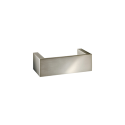 BRICK BK HTE 20 | Nickel satiniert | Porta asciugamani | DECOR WALTHER