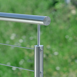I-SYS  Balustrade infill   Wire ropes   Carl Stahl ARC