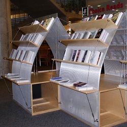 I-SYS | Shelving systems | Library shelving systems | Carl Stahl