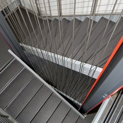 I-SYS | Stairwell | Wire ropes | Carl Stahl ARC