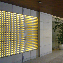 Porous model 1 screen in-situ | Facade design | Kenzan