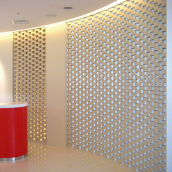 Ceramic screen in-situ | …de oficina | Kenzan