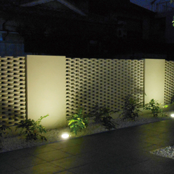 Ceramic screen in-situ | Facade design | Kenzan