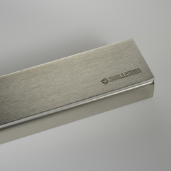 CeraLine brushed finish | Linear drains | DALLMER