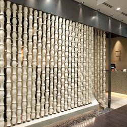 Bamboo screen in-situ | …de oficina | Kenzan