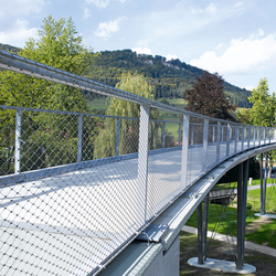 X-TEND | Railing infill for bridges | Metal weaves / meshs | Carl Stahl ARC
