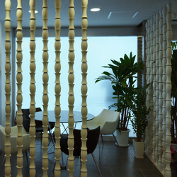 Bamboo screen in-situ | Partition wall systems | Kenzan