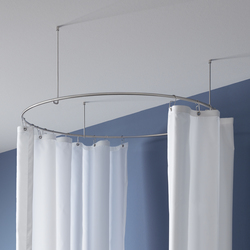 Casa moderna roma italy bastone tenda doccia - Tenda doccia design ...