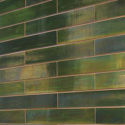Wall oribe in-situ | Ceramic tiles | Kenzan