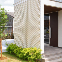 Flower circle in-situ | Facade design | Kenzan