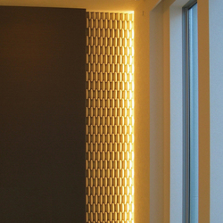 Deco wall leaf Anwendung |  | Kenzan