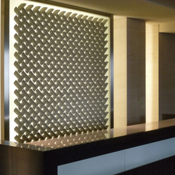 Deco wall leaf in-situ |  | Kenzan