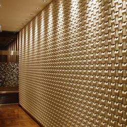 Ichimatsu MA-A in-situ | Wall tiles | Kenzan