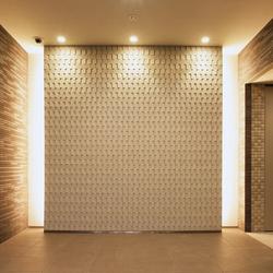 Ichimatsu MA-L in-situ | Wall tiles | Kenzan