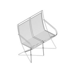 KSL 0.4 BA Stuhlbank mit Armlehnen | Gartenbänke | Till Behrens Systeme